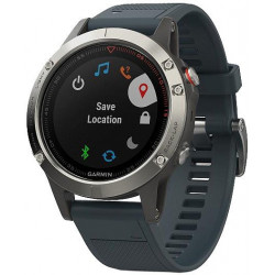 Garmin Fenix5 Silver Optic...