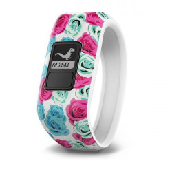 Fitness náramek Garmin Vivofit Junior Flower